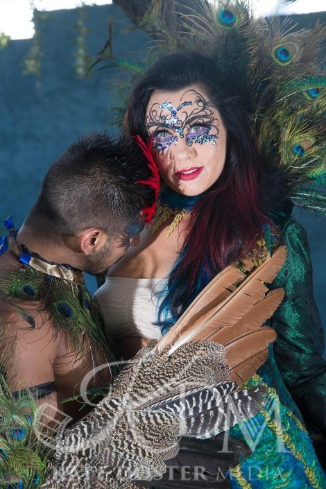 James Xavier and Alexis King, Peacock Theme