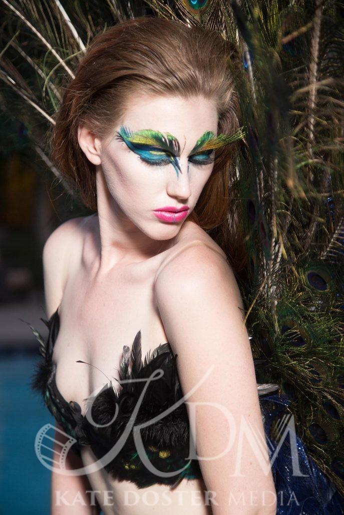 Victoria Mohrman, Peacock Theme