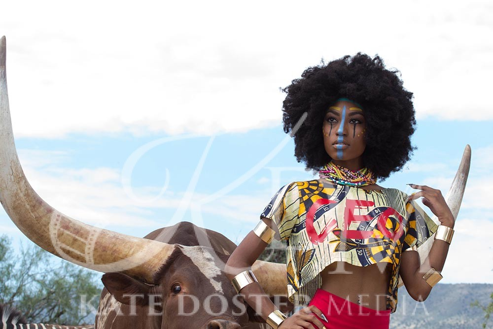 Out of Africa - Designer Women's Touch Apparel